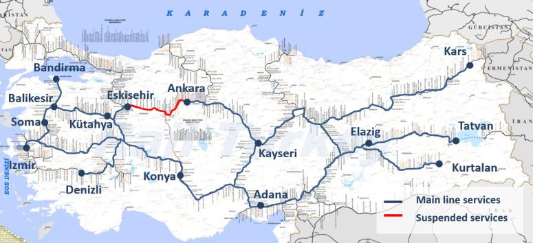 TCDD Main Line Trains