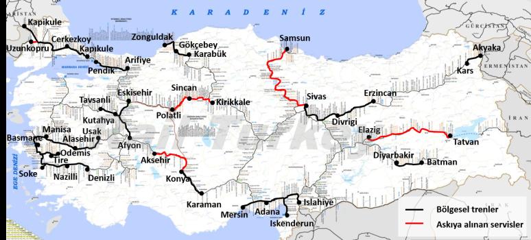 Regional Trains Turkey 2017