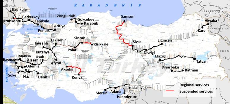 TCDD Regional Trains