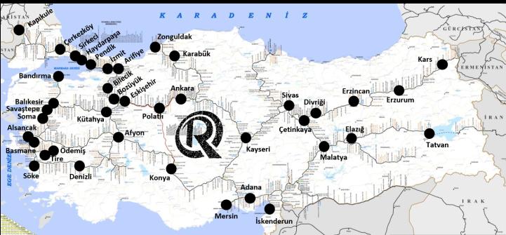 Train Stations in Turkey