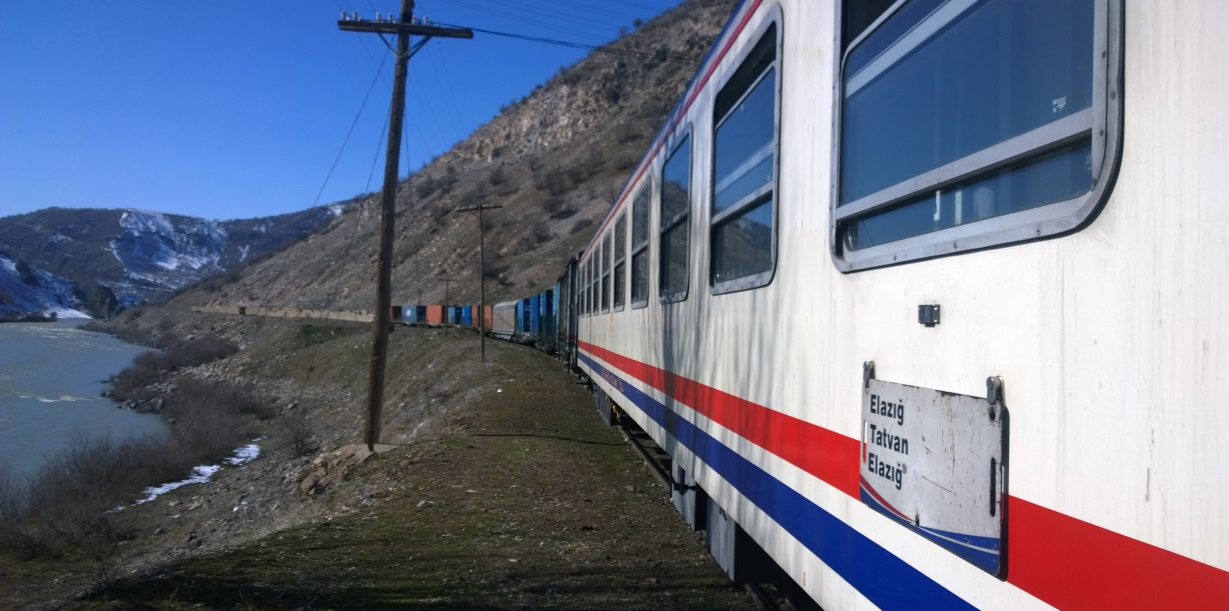Elazig Tatvan Train