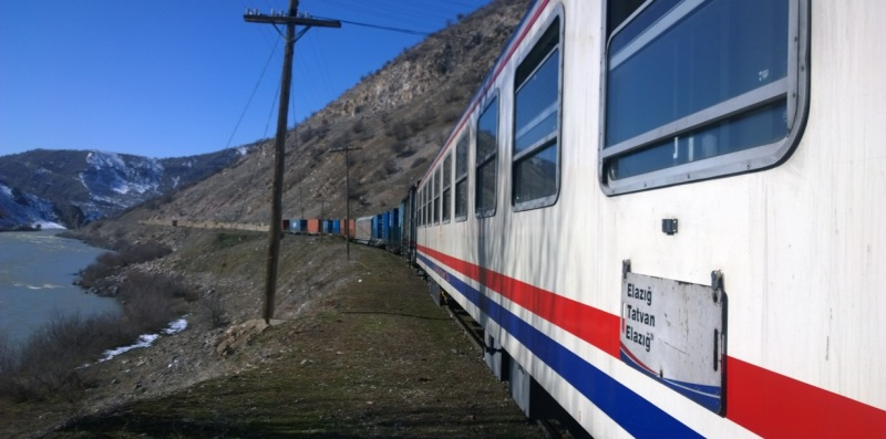 Elazig Tatvan Train