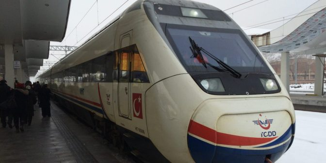 Ankara Eskisehir high speed train