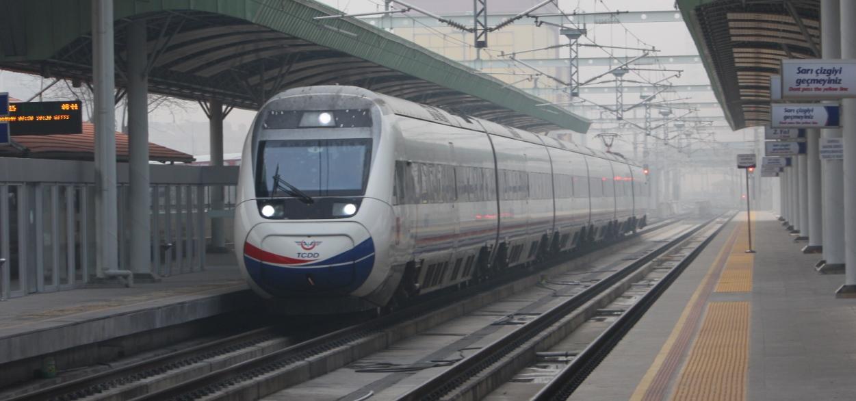 Eskisehir Konya High Speed Train