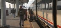 Ankara Konya High Speed Train at Konya
