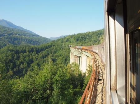 Lim Valley on Belgrade Bar railway