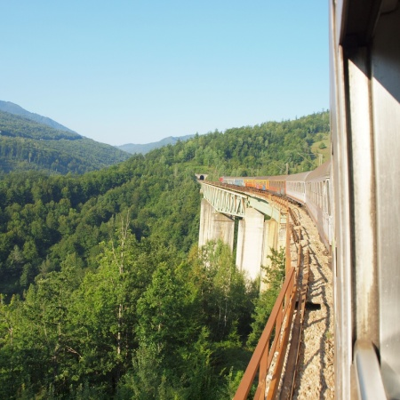 Lim Valley on Belgrade Bar railway