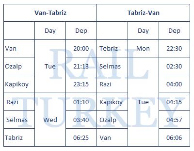 van-tabriz-timetable