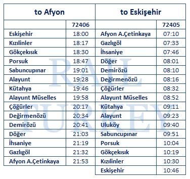 afyon-eskisehir-timetable