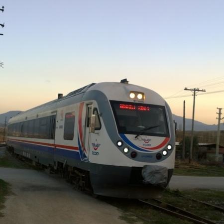 Denizli İzmir regional train