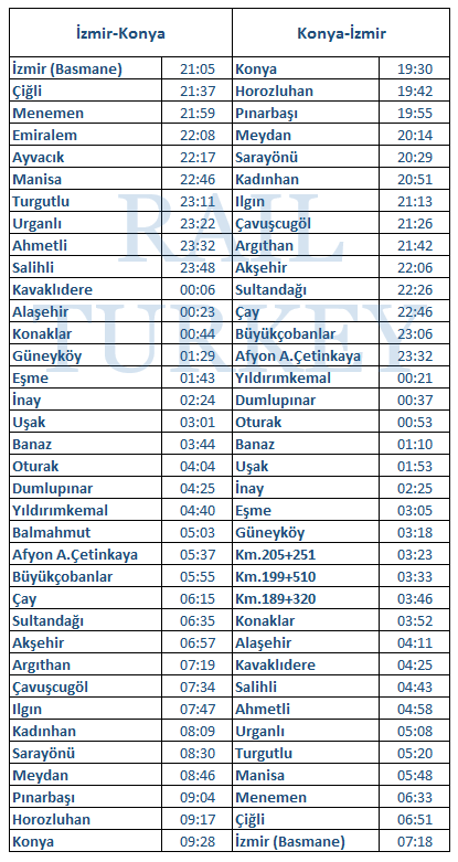 konya-mavi-timetable