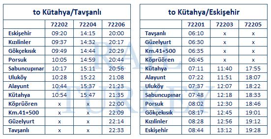 kutahya-tavsanli-timetable