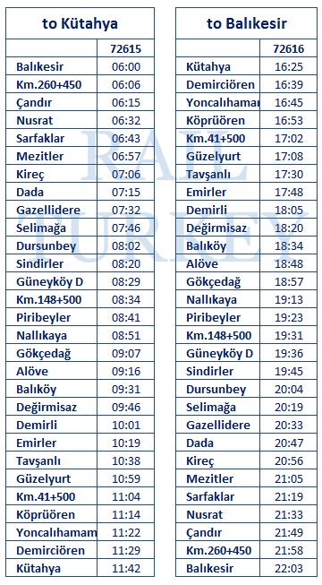 balikesir-kutahya-timetable