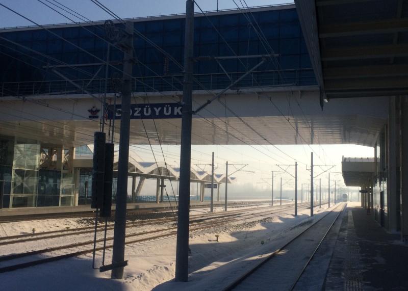 Bozuyuk YHT station