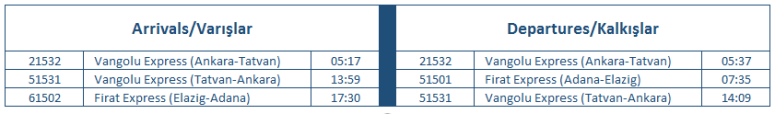 elazig-timetable