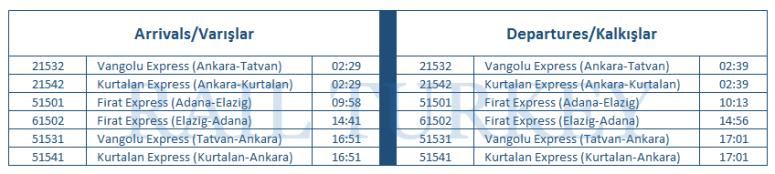 malatya-timetable