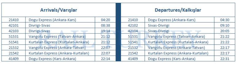 sivas-timetable