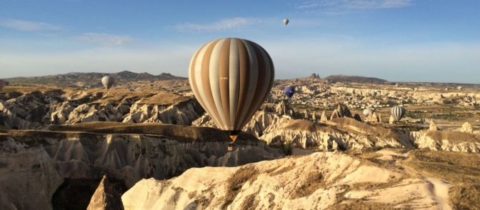 How to get to Cappadocia by train?