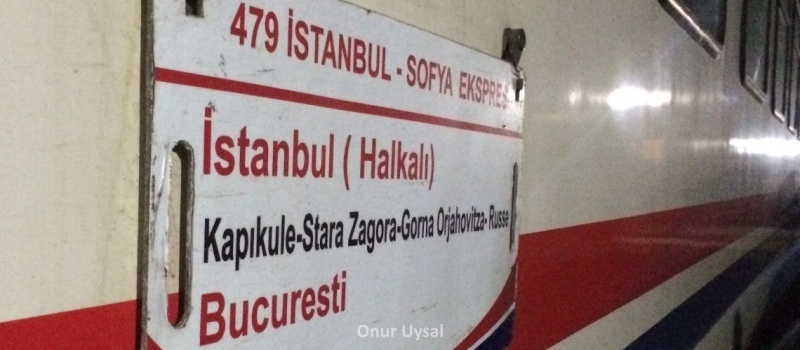 İstanbul Bükreş treni - Onur