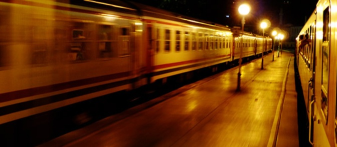 One night on a train from Istanbul to Sofia